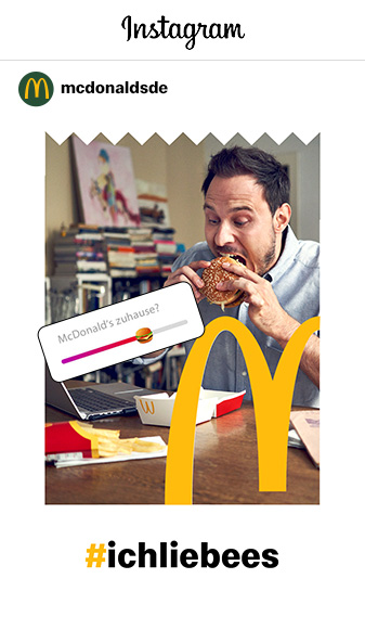 Immer Up to Date mit den McDonald's Social-Media-Kanälen