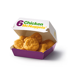 6 Chicken McNuggets®